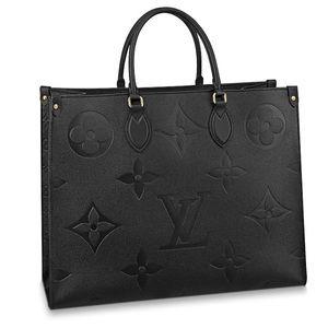 Black/noir Louis Vuitton ONTHEGO GM